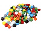 Plastic Seals Ø 8mm (500 pcs)
